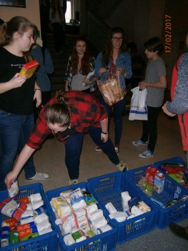 Vyhodnotenie zbierky potravín